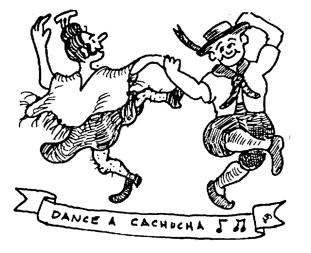 Sketch of Dance a Cachucha
