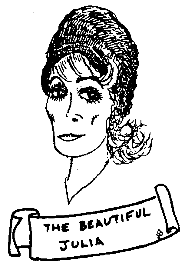 Sketch of The beautiful Julia
