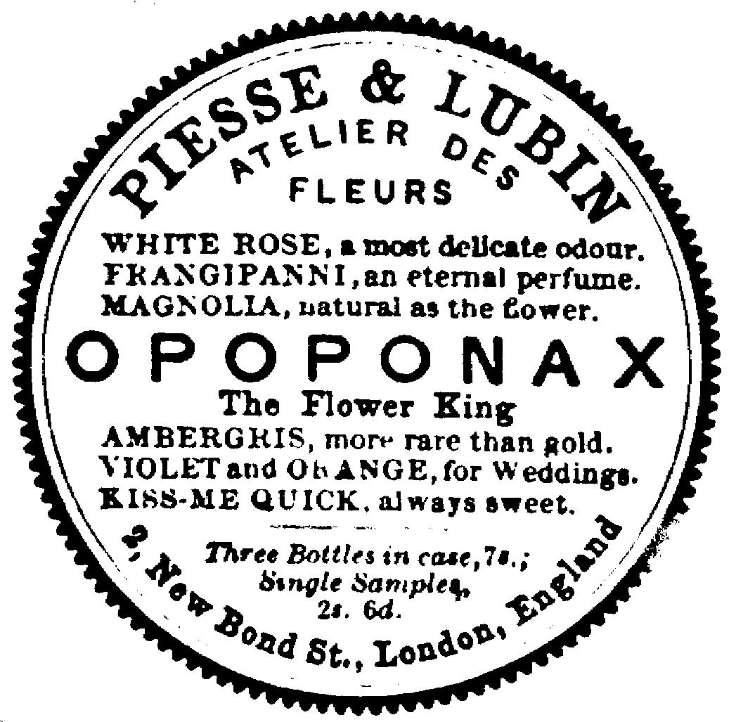 Sketch of Opoponax seal