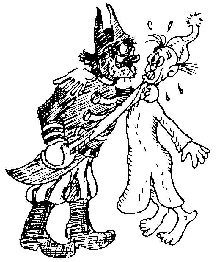 Sketch of Peignoirs