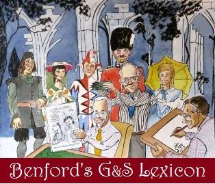 Cover to Benfords Gilbert and Sullivan Lexicon, Online Edition